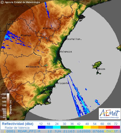 Radar Valencia/Murcia cycle 4