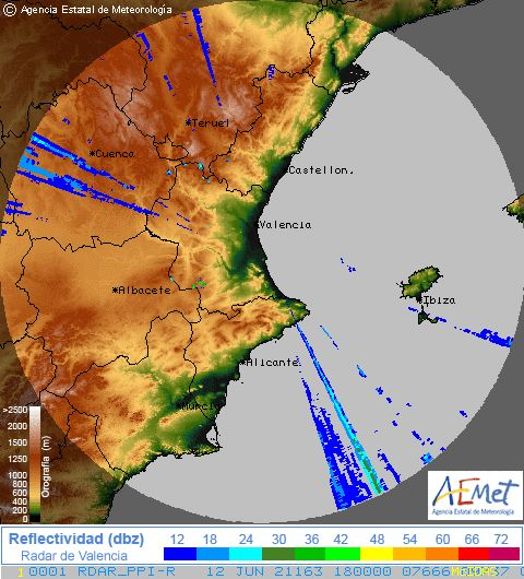 Radar Valencia/Murcia cycle 5