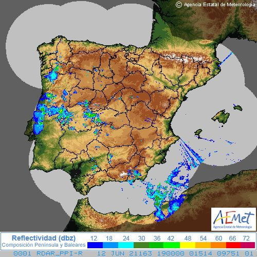 Radar Spain cycle 0