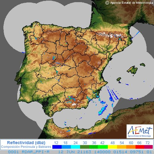 Radar Spain cycle 6